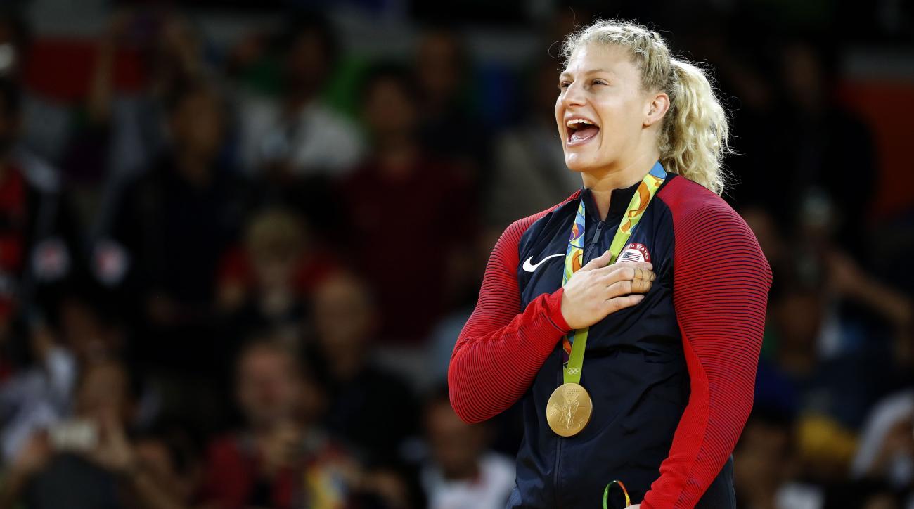 kayla harrison olympics judo gold medal mma