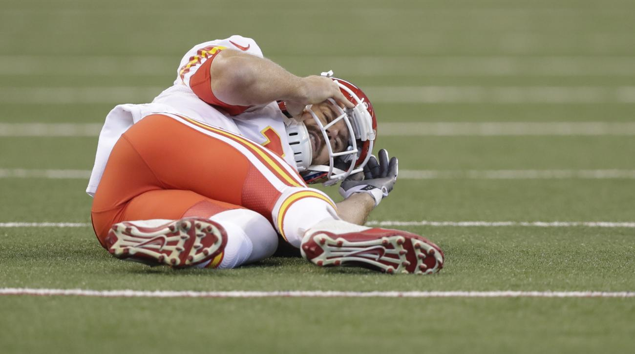 NFL injuries: Alex Smith, Spencer Ware out for Chiefs