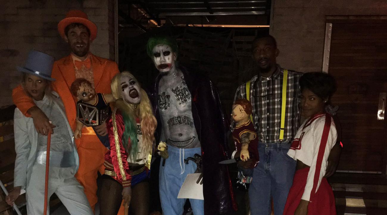 LeBron James' Halloween party had amazing costumes | SI.com