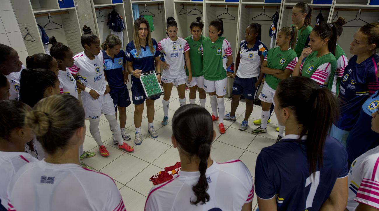 Emily Lima will be Brazil women's national team's first female coach