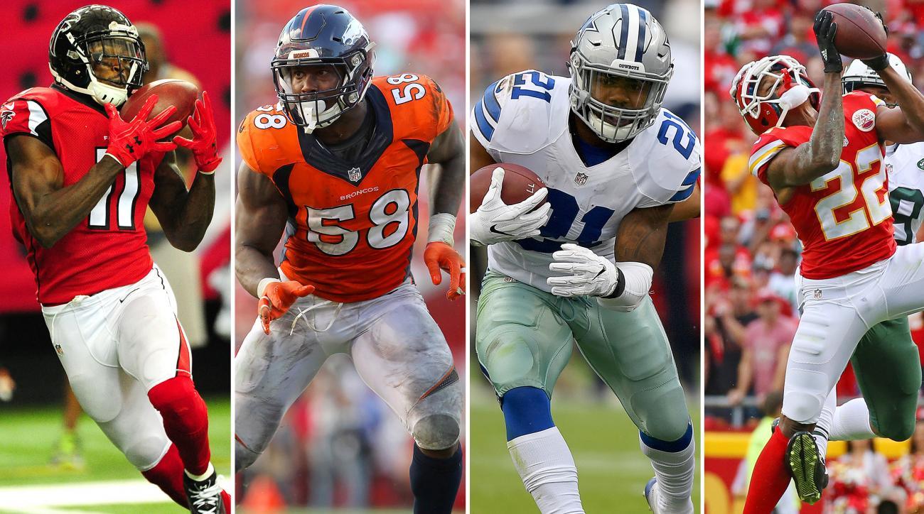 NFL Midseason All Pro Team 2016