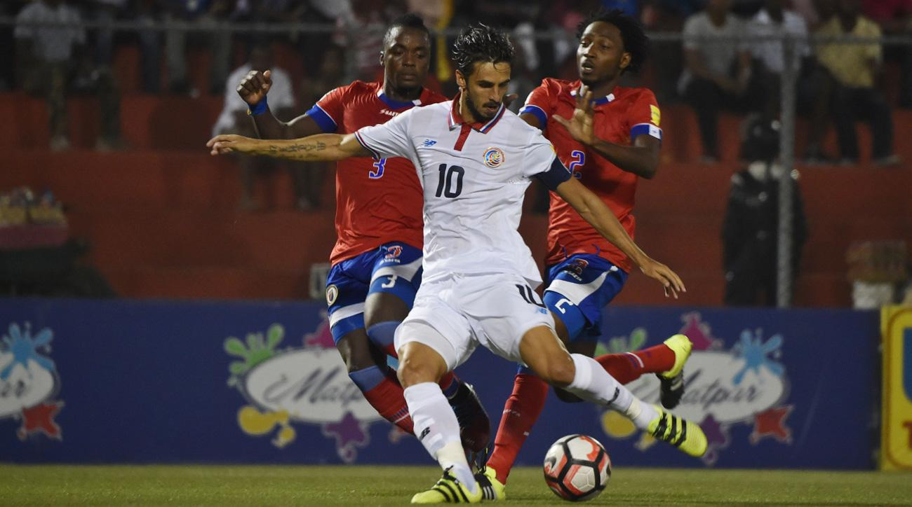 Bryan Ruiz leads Costa Rica vs. the USA in World Cup qualifying