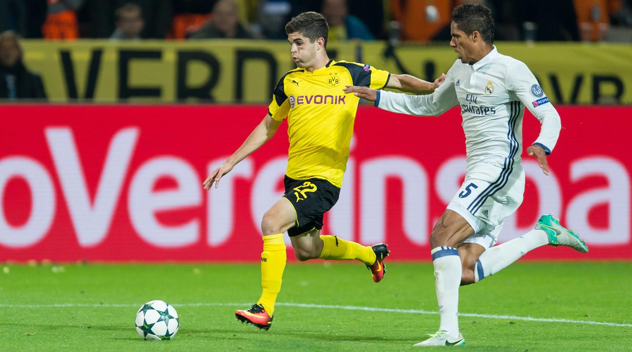 Christian Pulisic is a rising star at Borussia Dortmund
