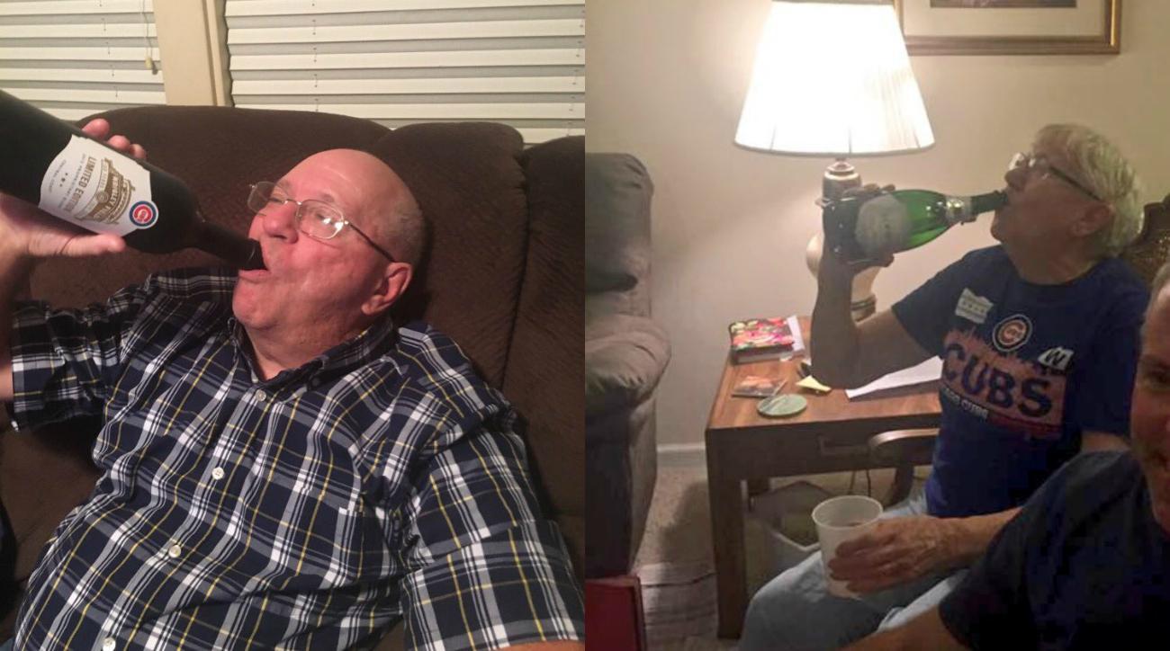 Cubs World Series: Photos, videos of grandparents celebrating