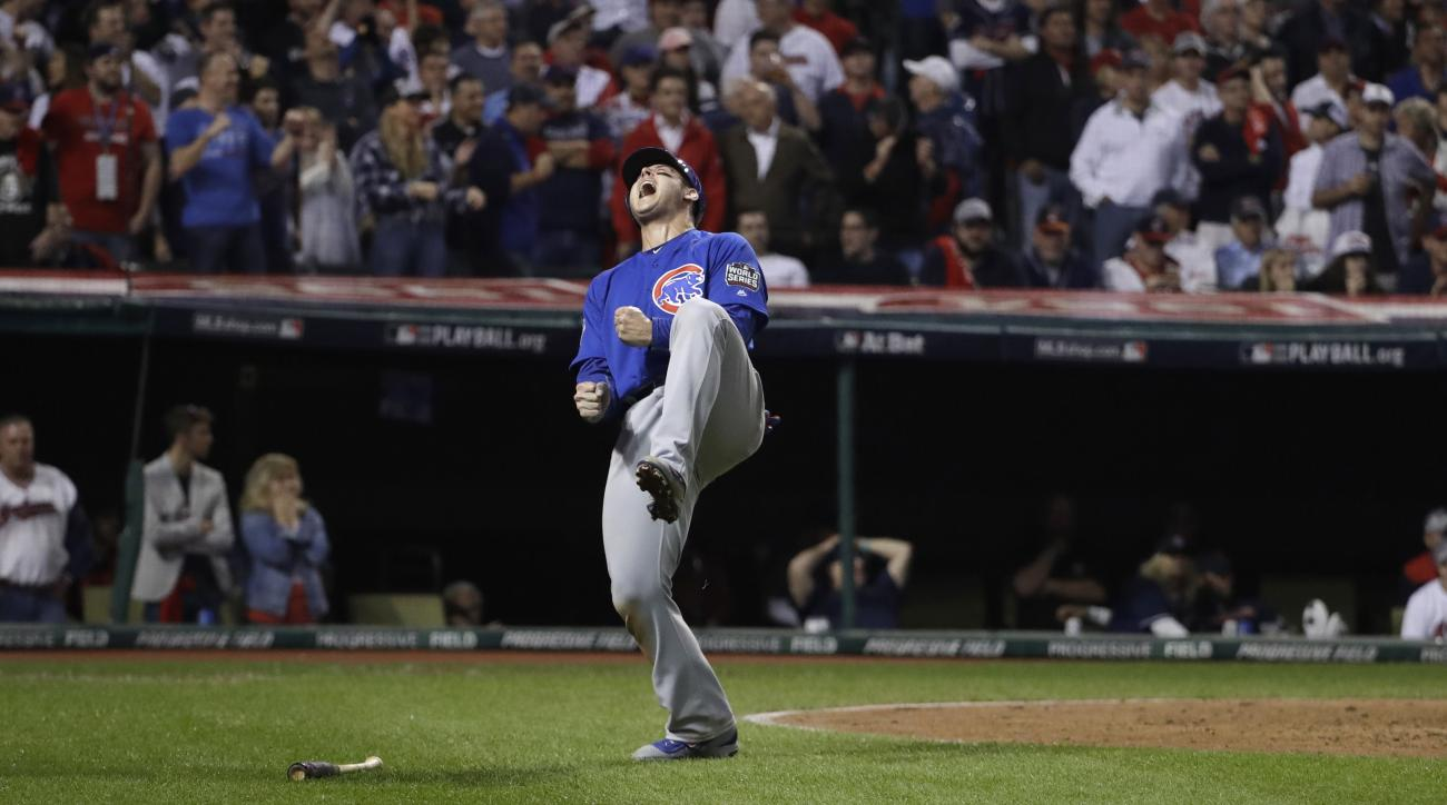 cubs world series moments
