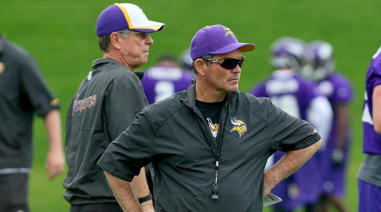 When it came to the Vikings offense, it was becoming increasingly clear Norv Turner and Mike Zimmer were not on the same page.