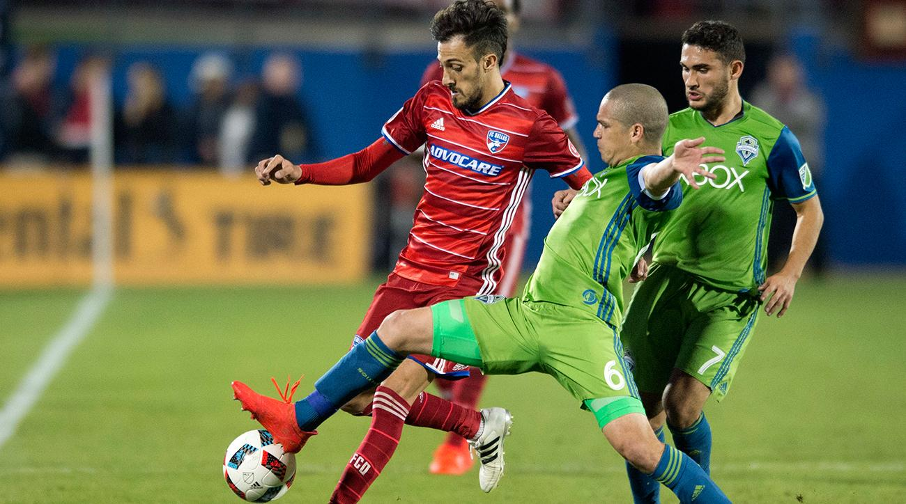 seattle sounders beat fc dallas mls playoffs