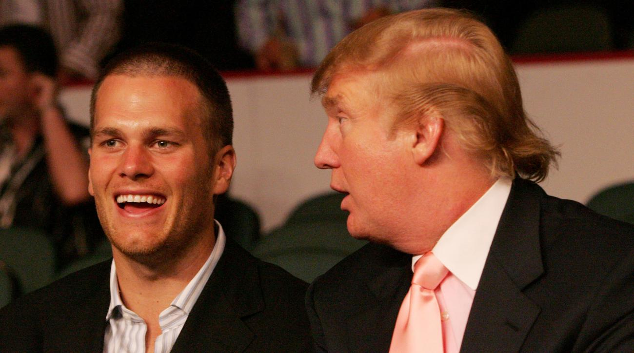 Tom Brady, Bill Belichick endorse Donald Trump