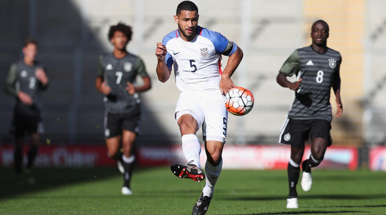Cameron-Carter Vickers will get his first taste of the USA-Mexico rivalry