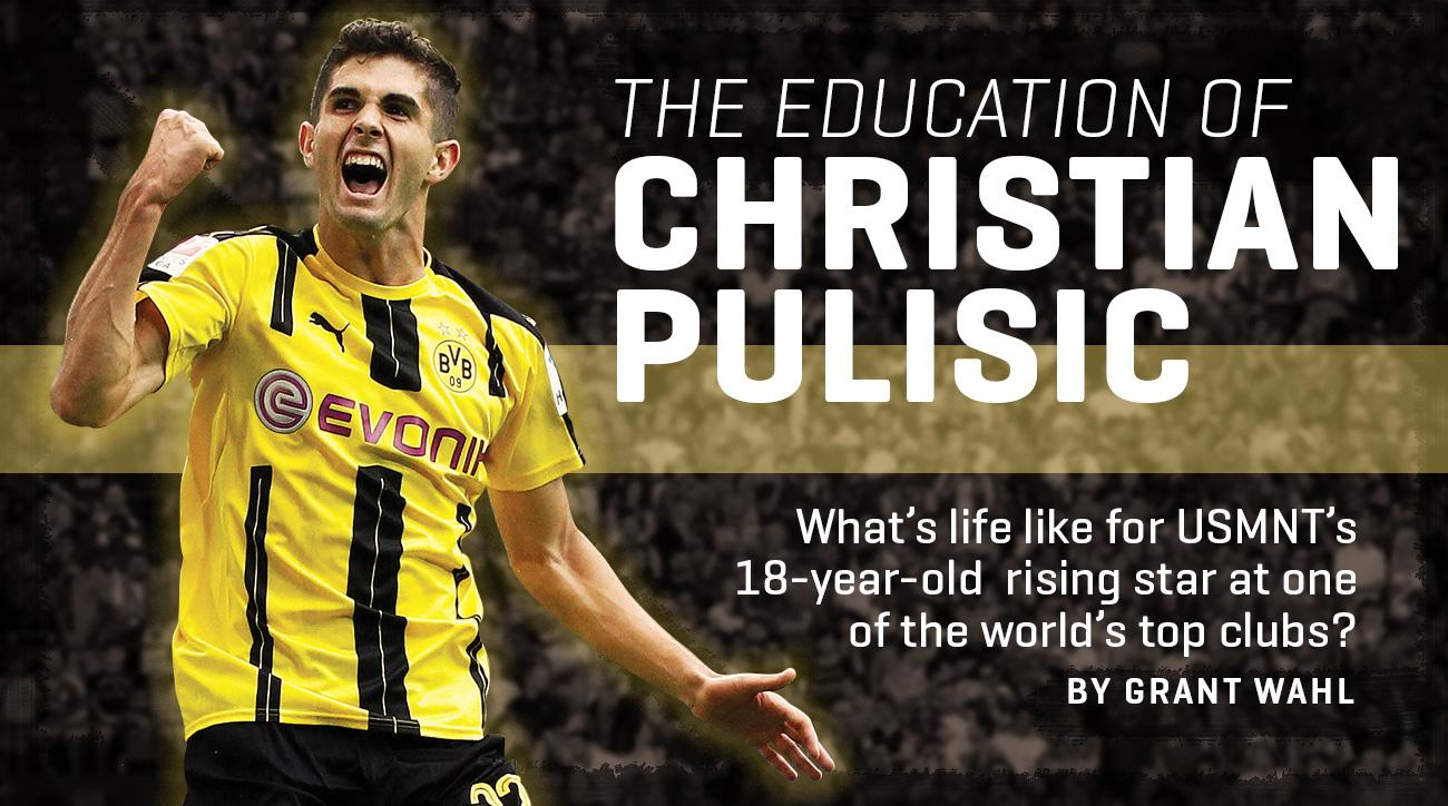 Christian Pulisic is a rising star for the US national team and Borussia Dortmund