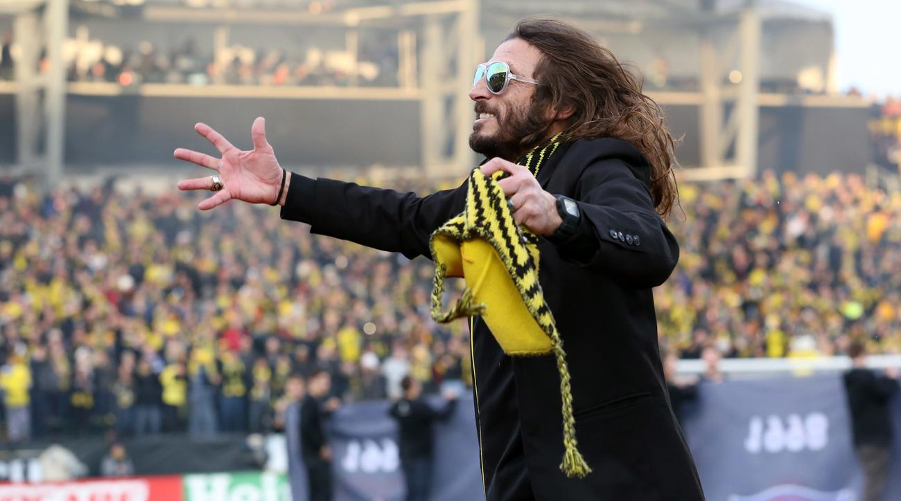 Former USA and Columbus Crew great Frankie Hejduk