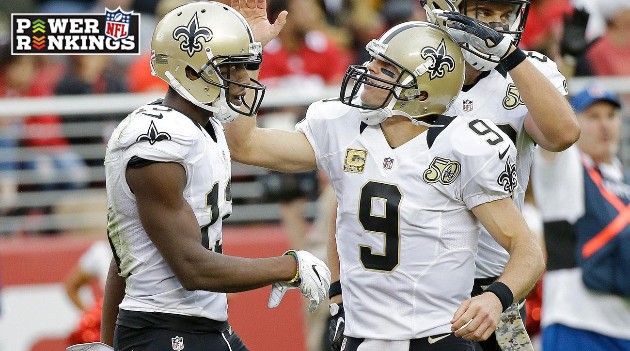 NFL Power Rankings: Saints, Lions, Raiders move up ahead of Week 10 action