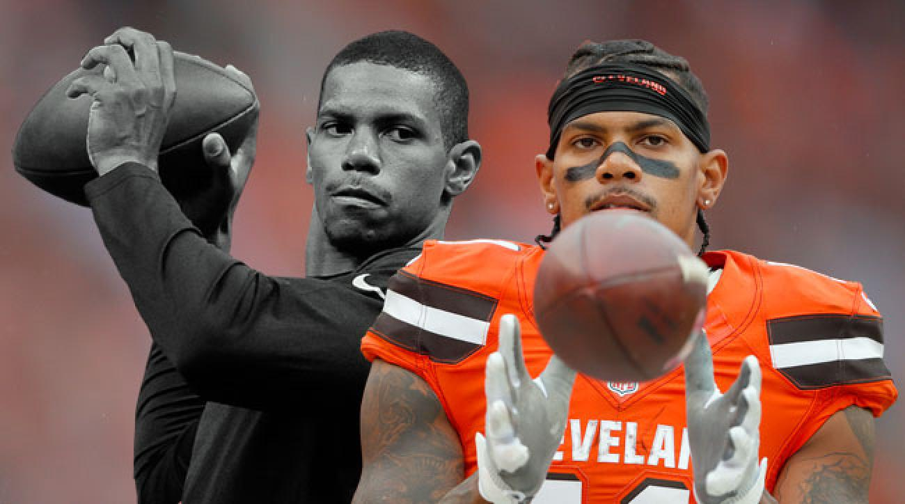 Cleveland Browns receiver Terrelle Pryor made the transition from quarterback to wideout.