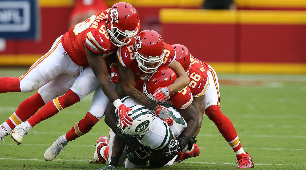 The Chiefs defense ranks eighth in points allowed per game (18.9) this season.