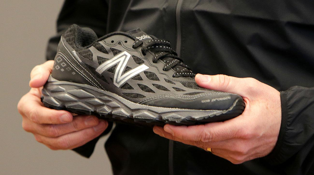 new balance donald trump shoes burning video