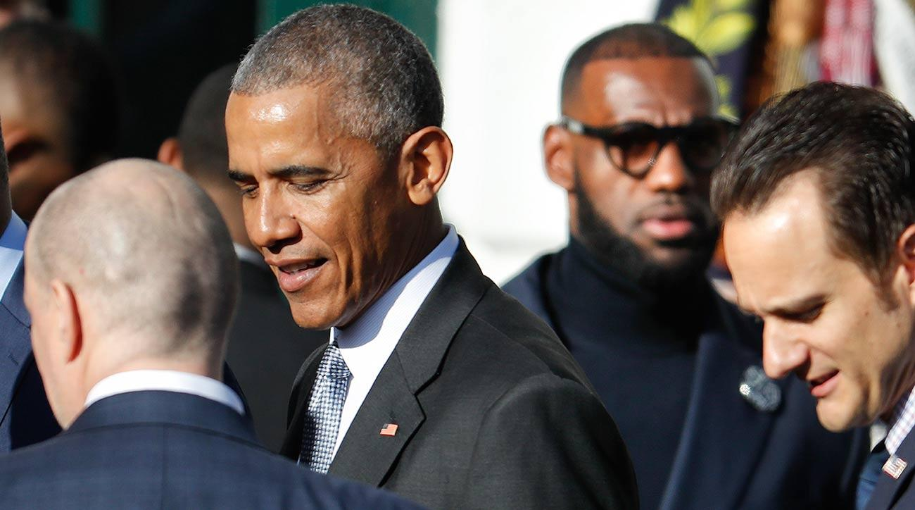 A day with barack obama donald trump and lebron james si cavs meet obama in the shadow of trump m4hsunfo