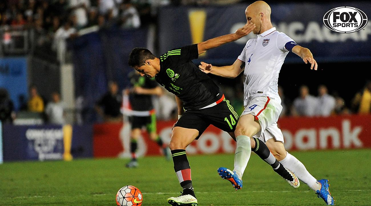 Michael Bradley and Chicharito feature in the USA vs Mexico World Cup qualifier