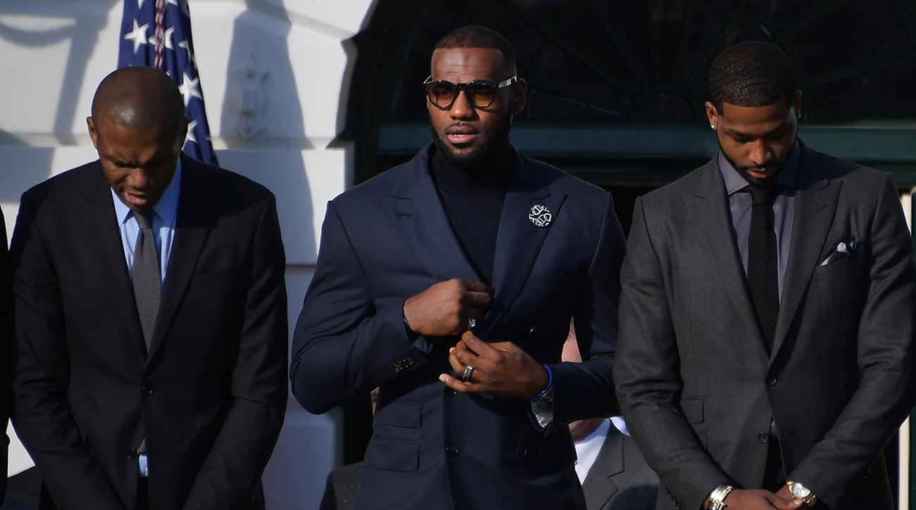 LeBron James may not visit Donald Trump at White House in future