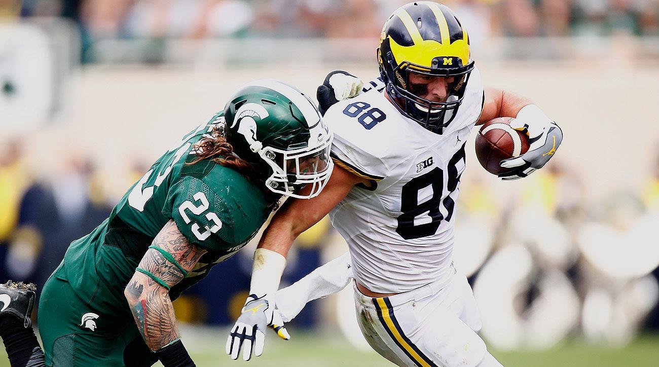 2017 NFL draft tight end rankings: Jake Butt, O.J. Howard, Evan Engram