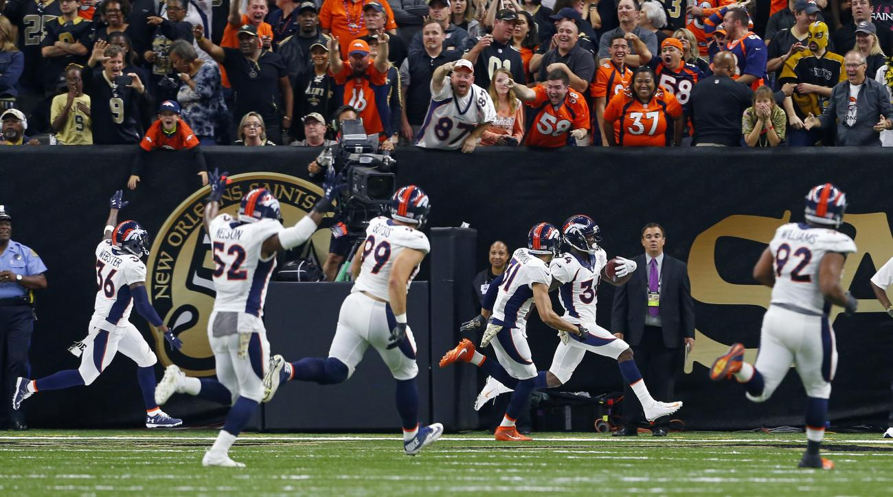 Broncos-Saints: Blocked extra point wins game (video)