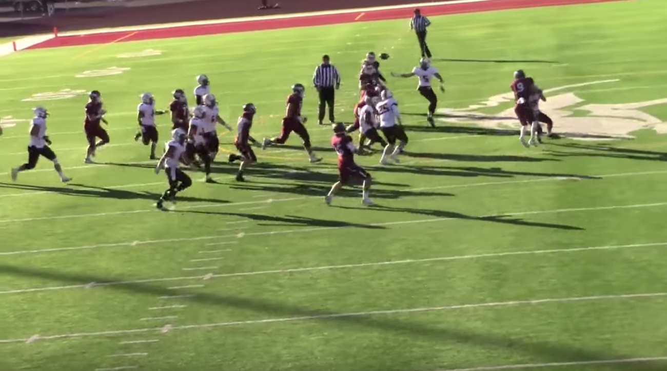 NAIA football game features crazy touchdown play (video)