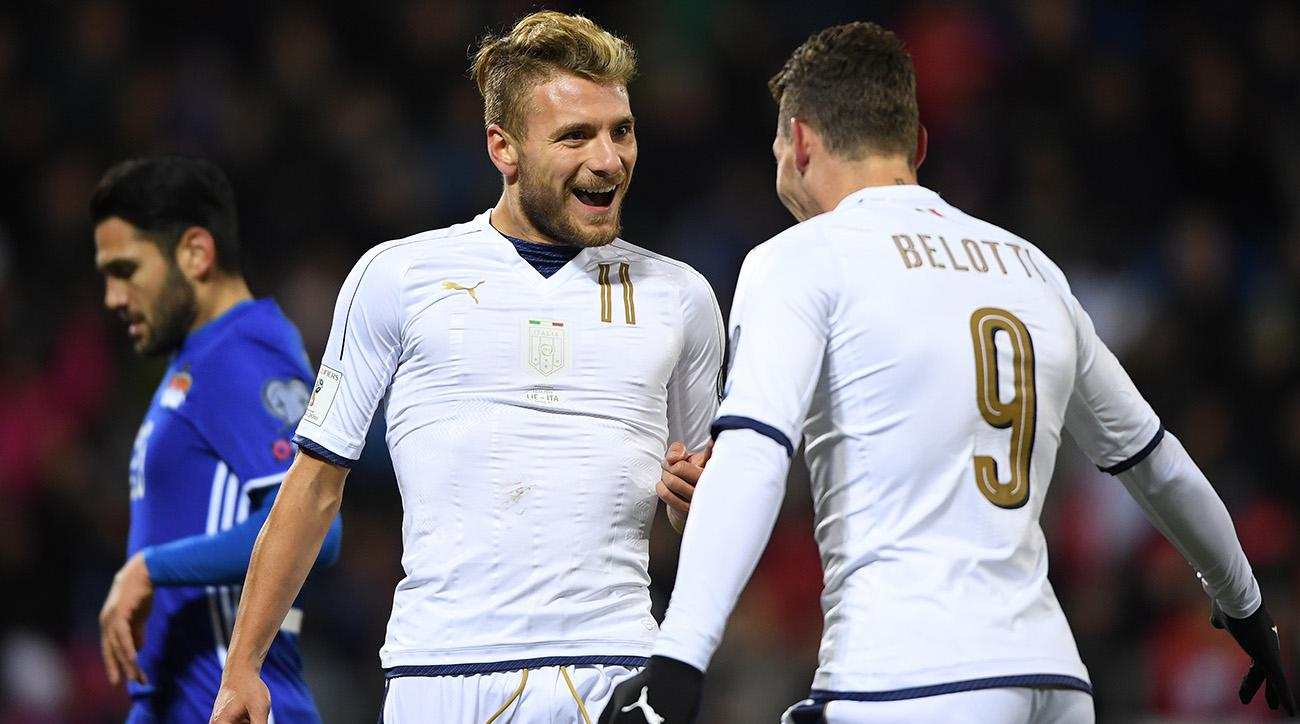 Watch a live stream online as Italy hosts Germany in a friendly.