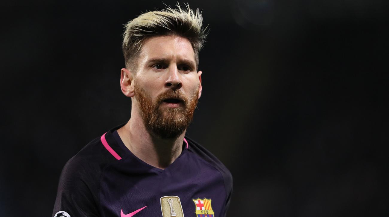 Lionel Messi's contract with Barcelona goes through 2018