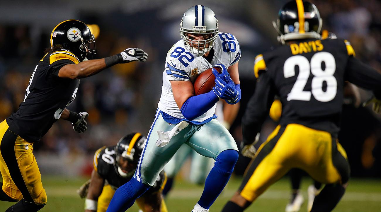 Jason Witten and the Cowboys now have won eight straight games, which ties the franchise record achieved by the 1977 team.