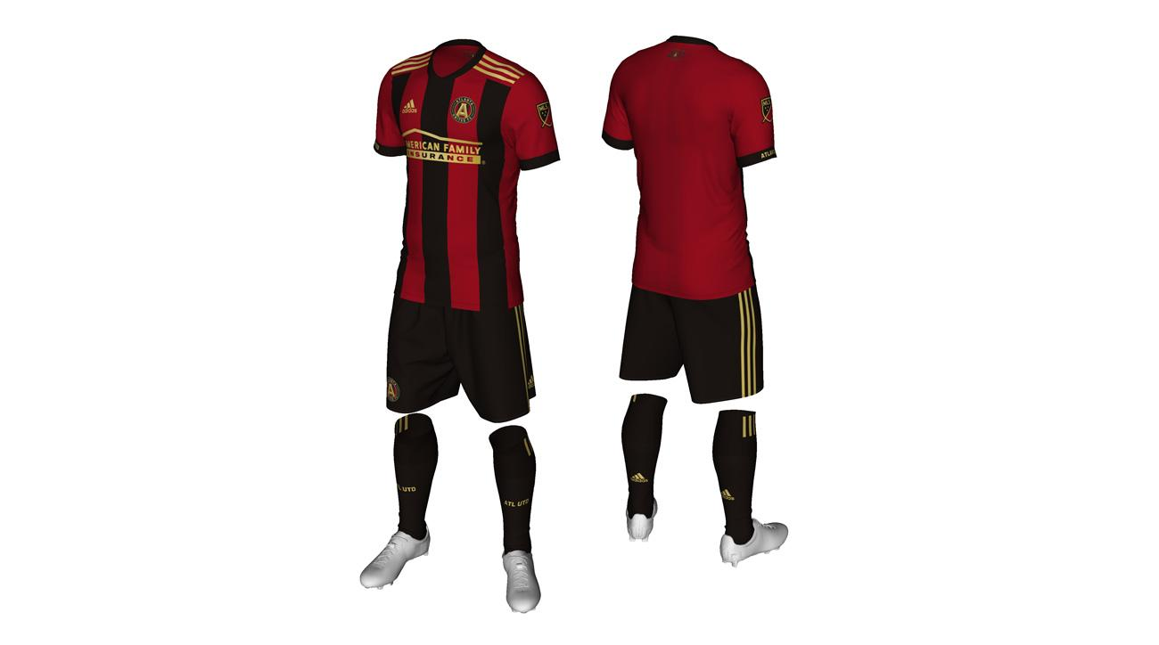 size 40 8dbd8 9b8b7 Atlanta United FC: MLS expansion club's first jersey (PHOTOS ...