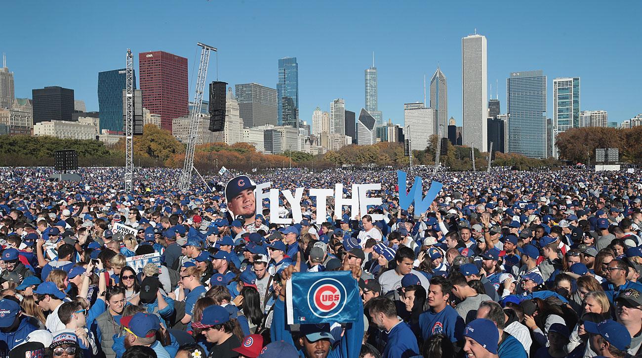 Chicago Cubs World Series celebration