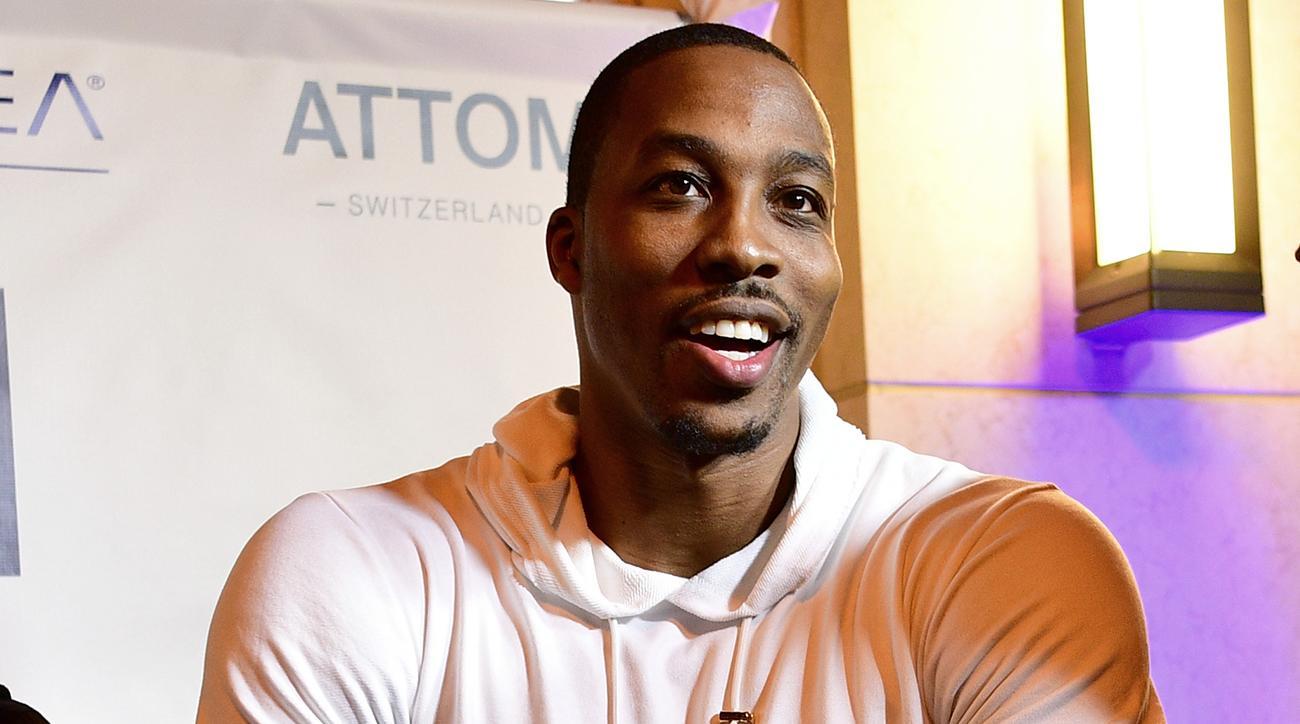 Dwight Howard joked with mom that he signed with Utah Jazz