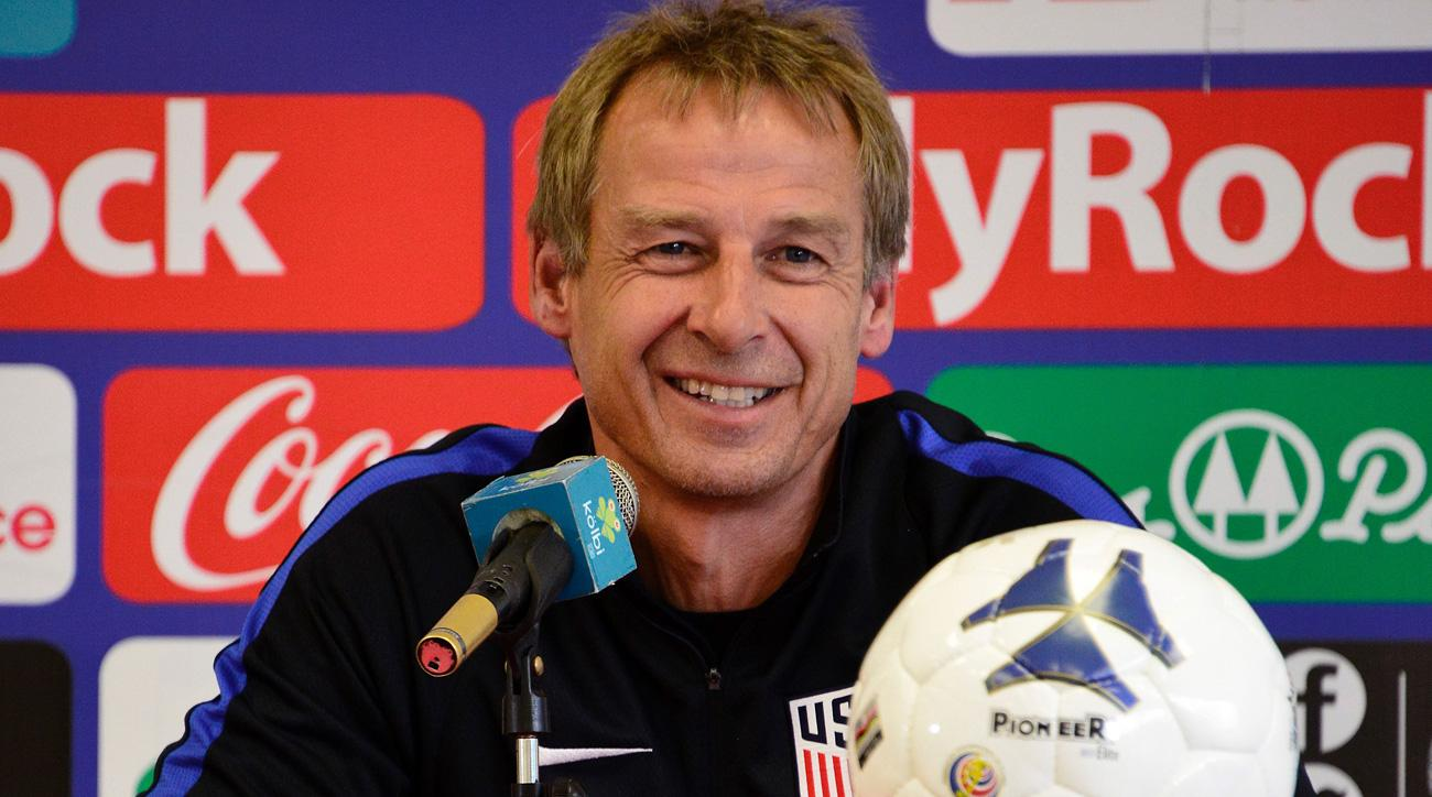 Jurgen Klinsmann and the U.S. have never won in Costa Rica