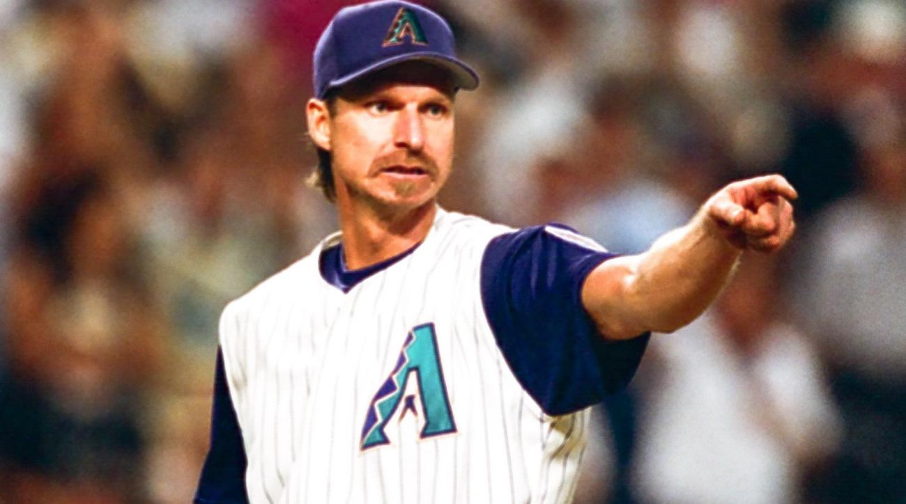 randy johnson shattered jack del rio's cup with fastball