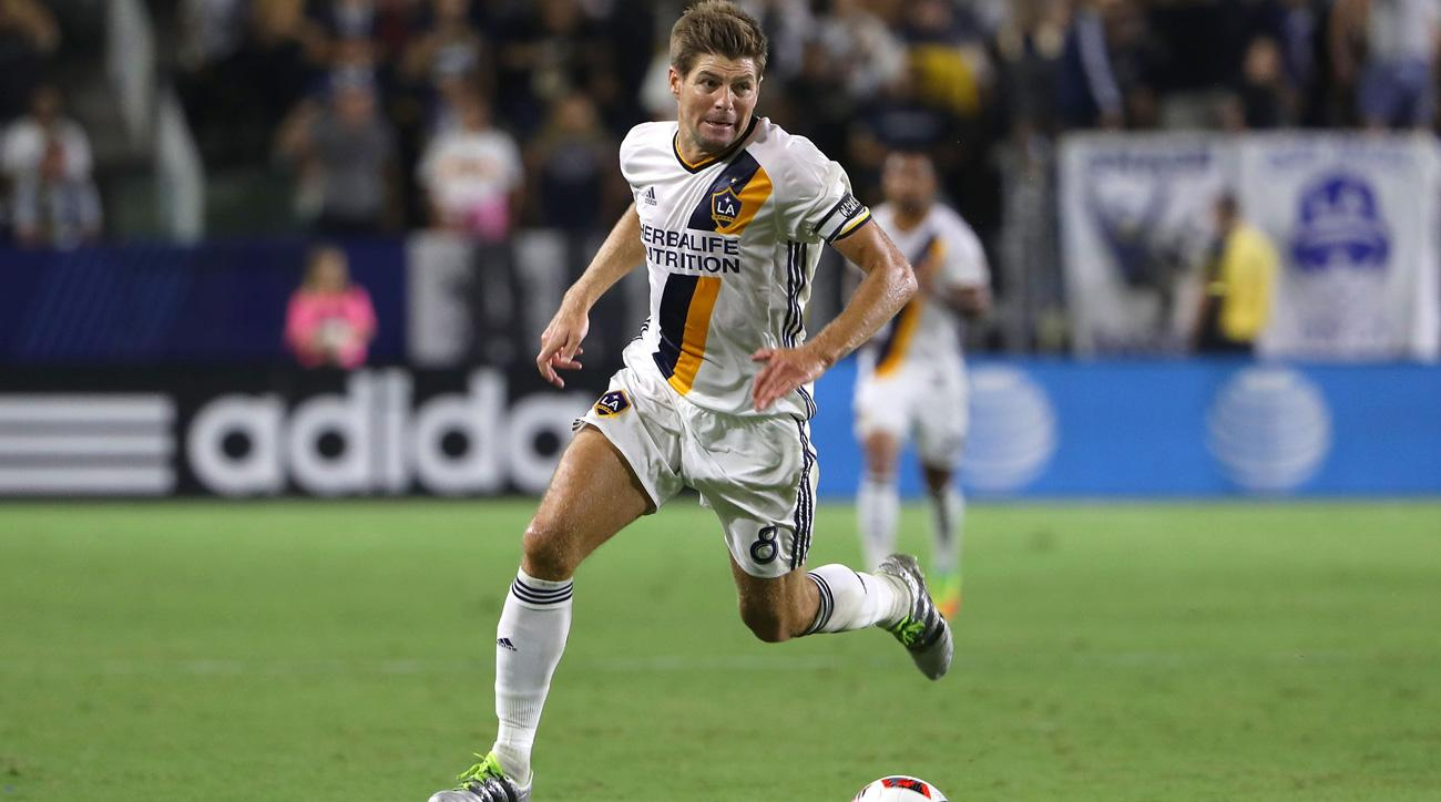 Steven Gerrard is leaving the LA Galaxy