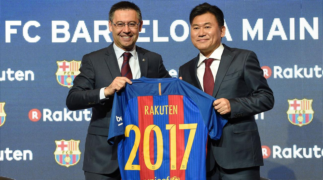Barcelona signs a lucrative new jersey sponsor deal