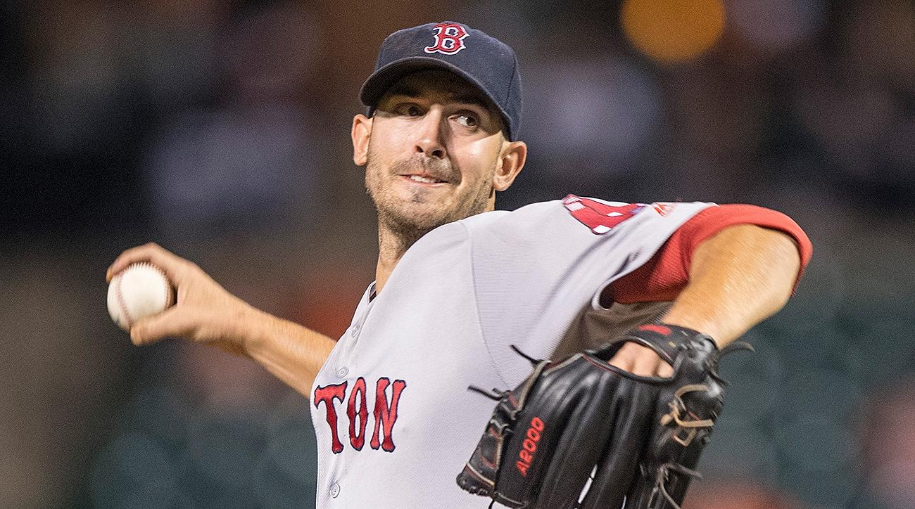 Boston Red Sox Rick Porcello