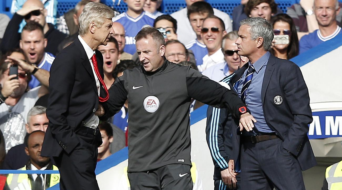 Jose Mourinho and Arsene Wenger square off as Manchester United meets Arsenal