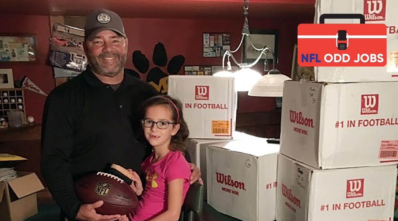 NFL football preparation: Rams quarterbacks work with Matt Litzsinger