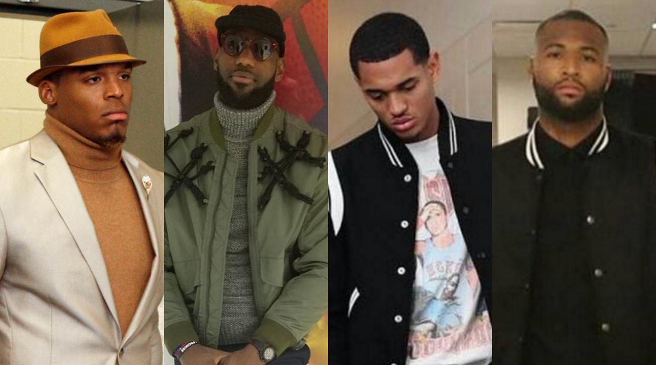 Sports Style Swipe: Cam Newton, LeBron James, Jordan Clarkson and DeMarcus Cousins IMG