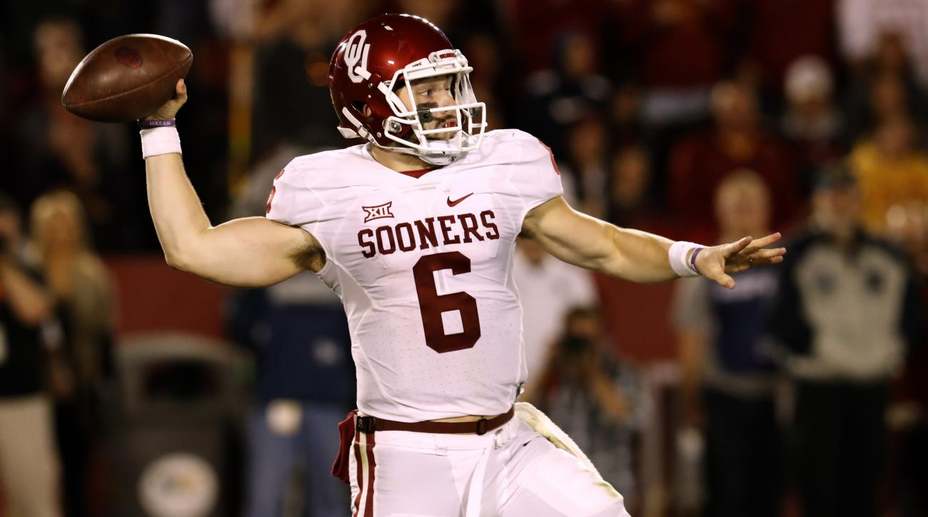 baker mayfield oklahoma sooners iowa state cyclones