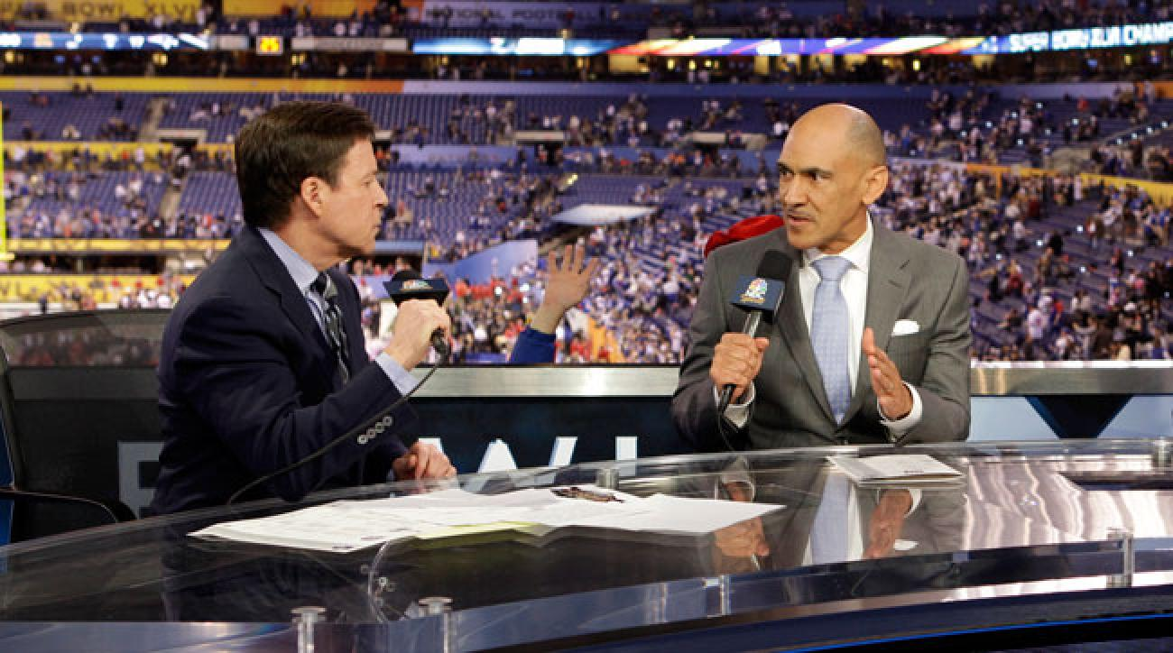 Bob Costas and Tony Dungy.