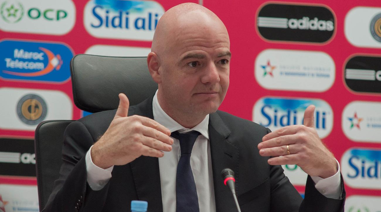 Gianni Infantino wants to expand the FIFA Club World Cup