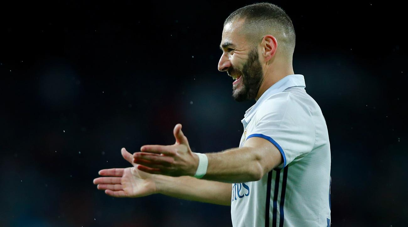 Karim Benzema is fit for Real Madrid's derby vs Atletico Madrid
