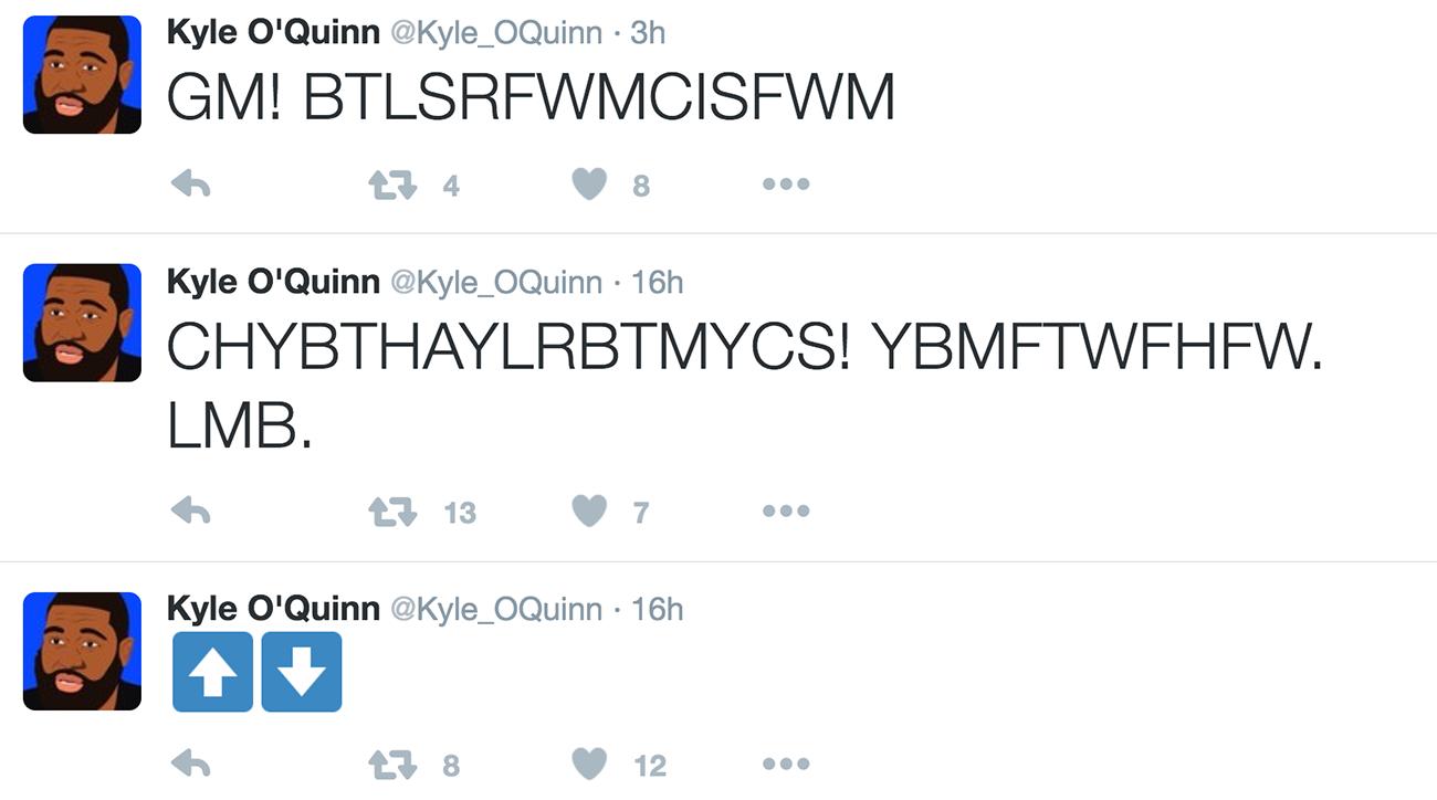 kyle oquinn has interesting tweets