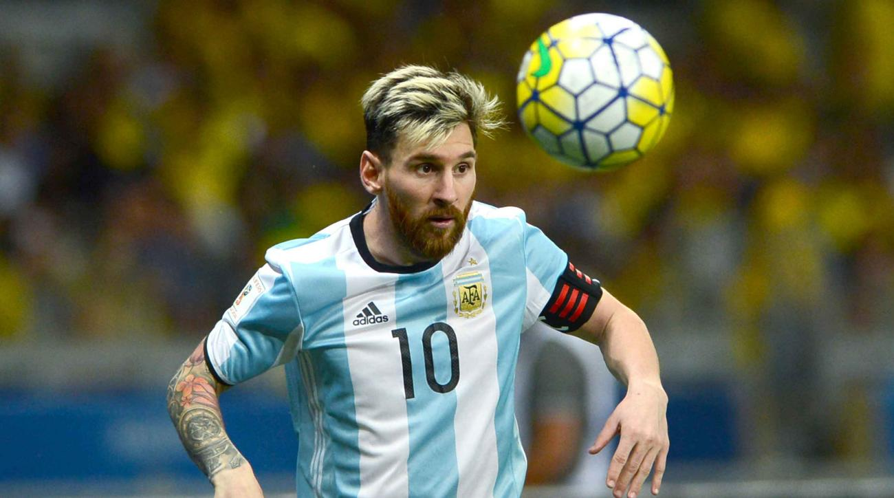 messi argentina security