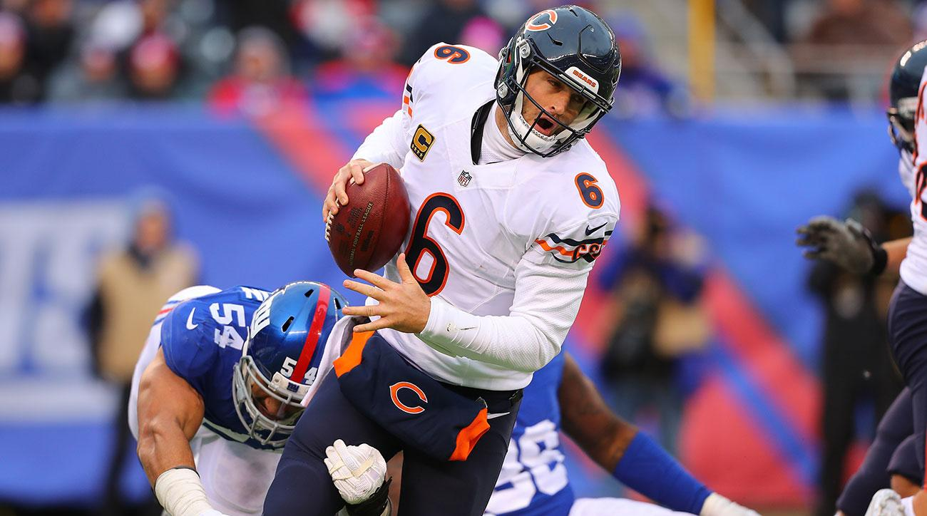 jay cutler shoulder injury chicago bears