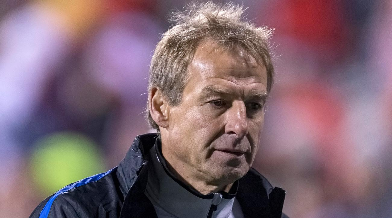 Jurgen Klinsmann is out as manager of the U.S. men's national team