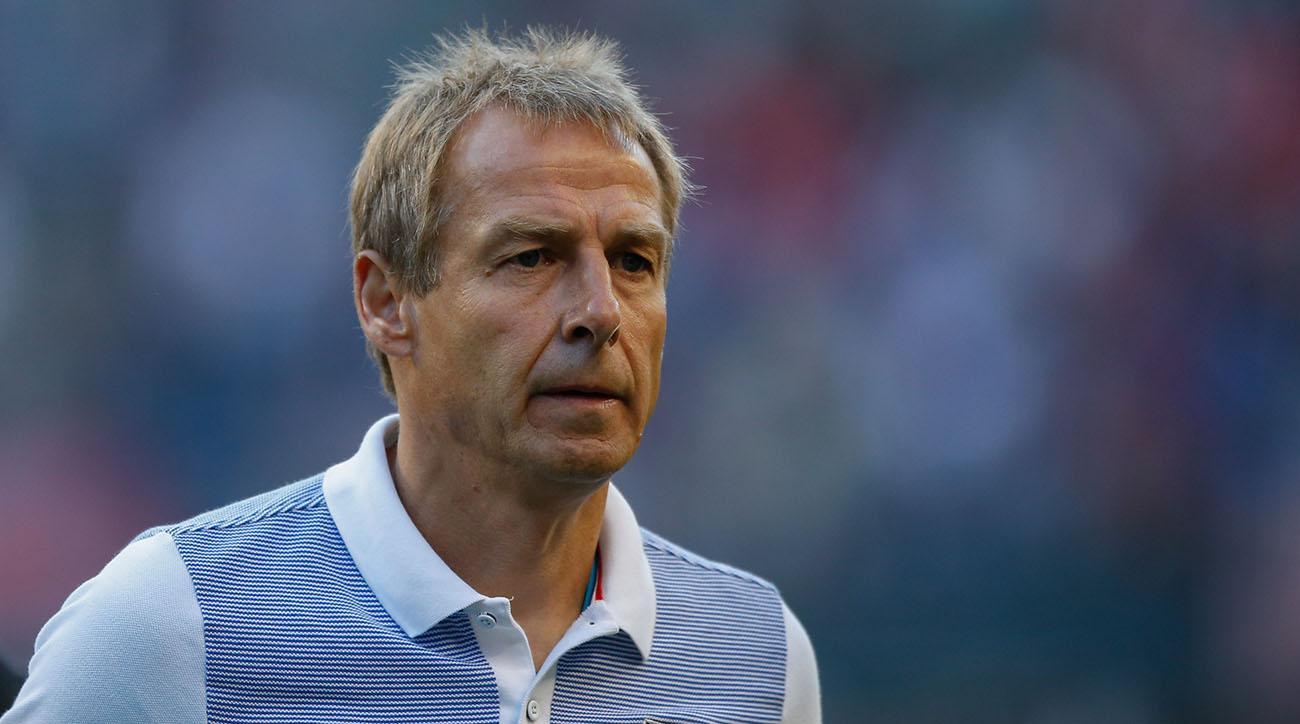 Jurgen Klinsmann was fired by US Soccer.