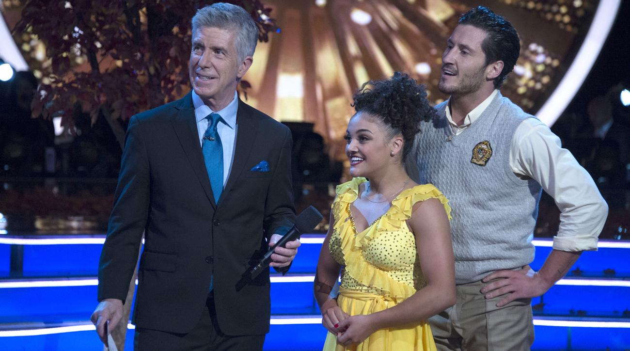 laurie hernandez wins dancing with the stars