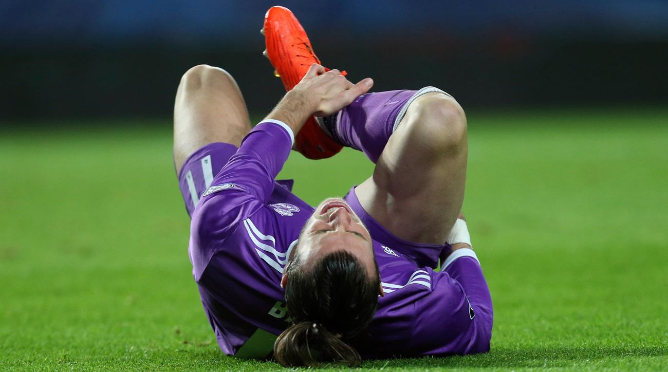Gareth Bale is injured and could miss the Clasico